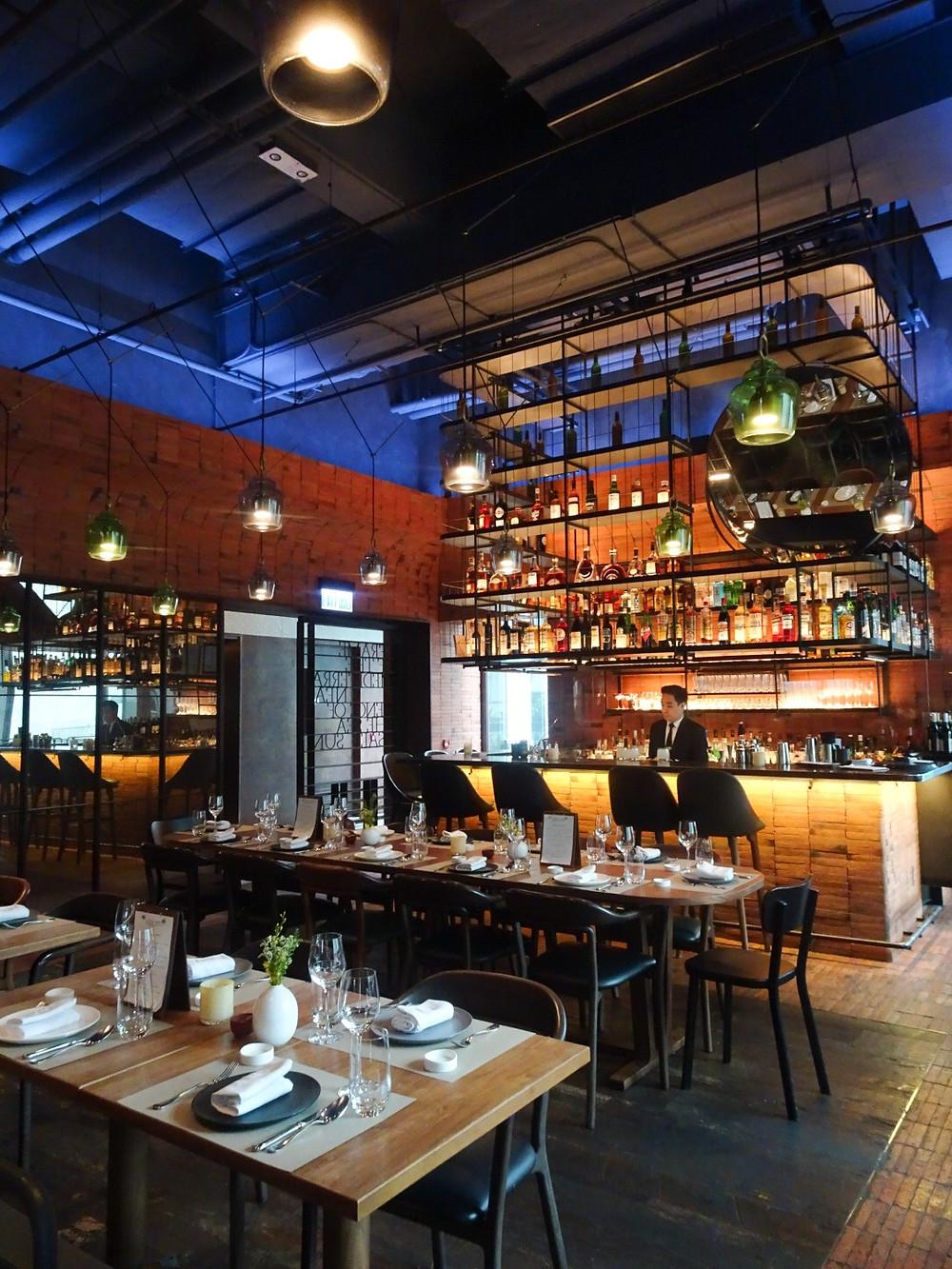Mercato Italian restaurant in Hong Kong