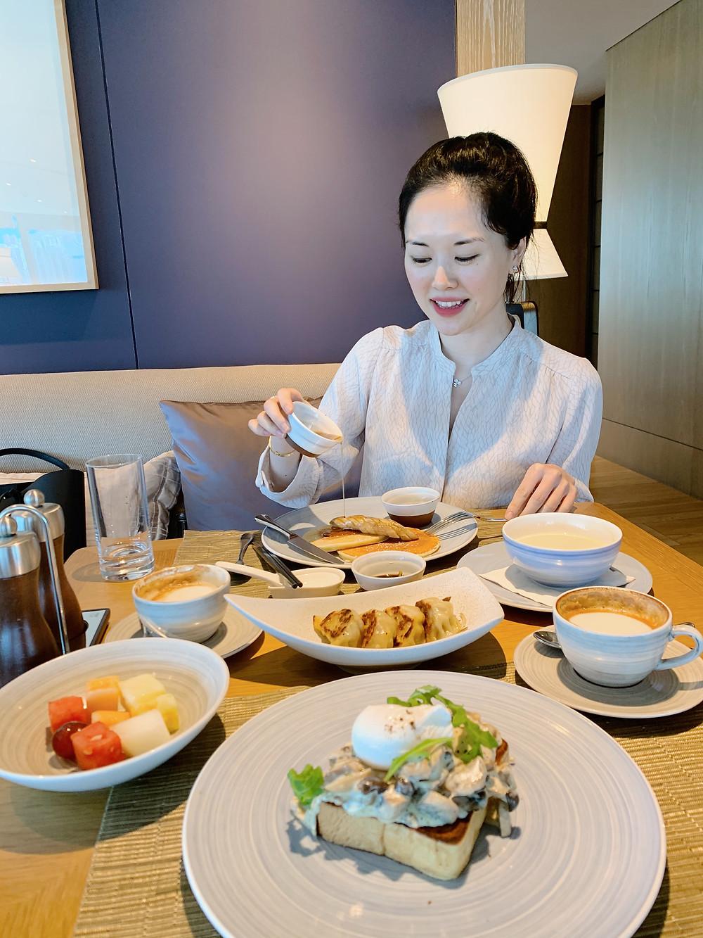 Jenni Lien Food Blogger at Kerry Hotel Hong Kong