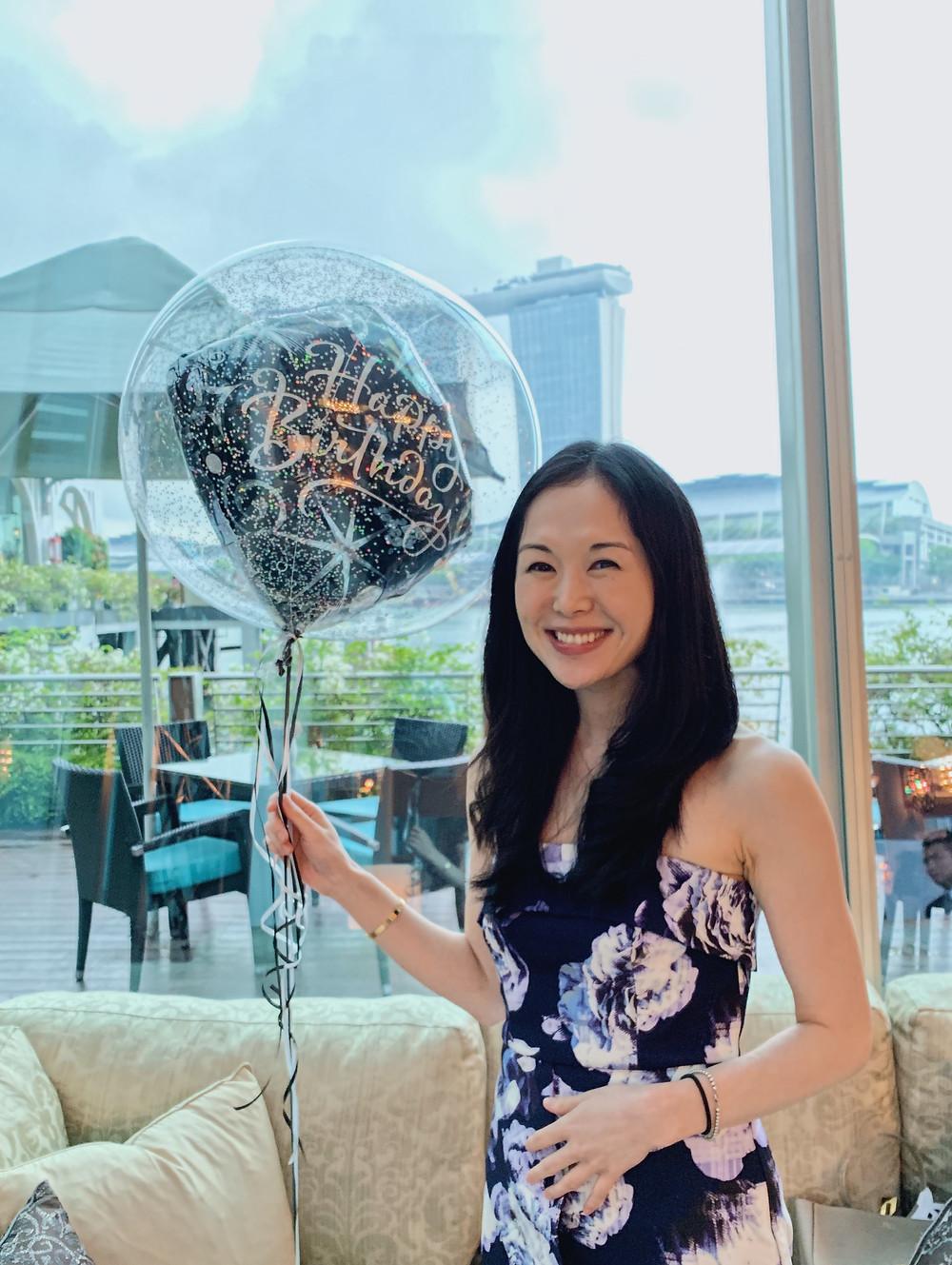 Jenni Lien at the Fullerton Bay Hotel Singapore