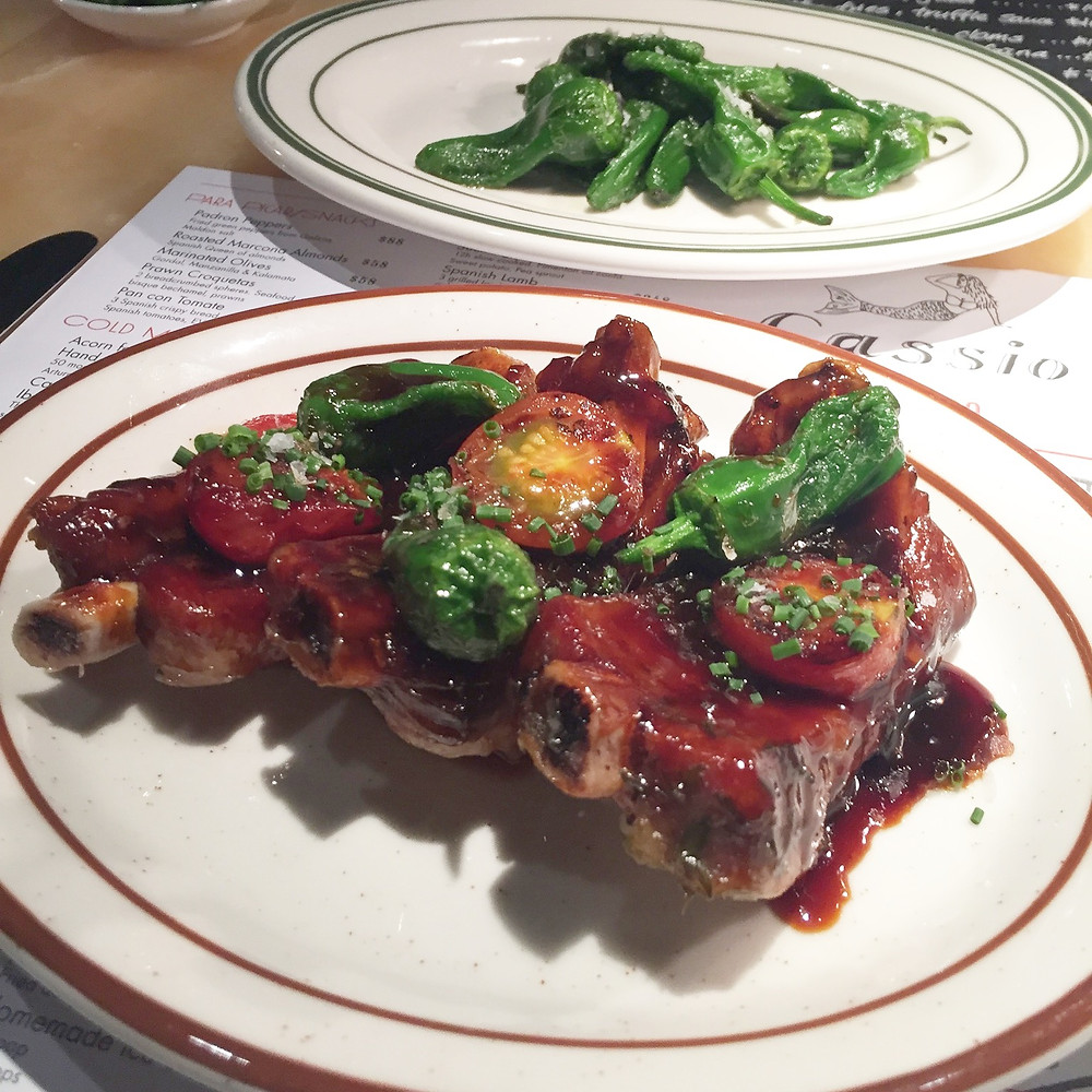 Tapas Spanish food at Cassio restaurant in Hong Kong