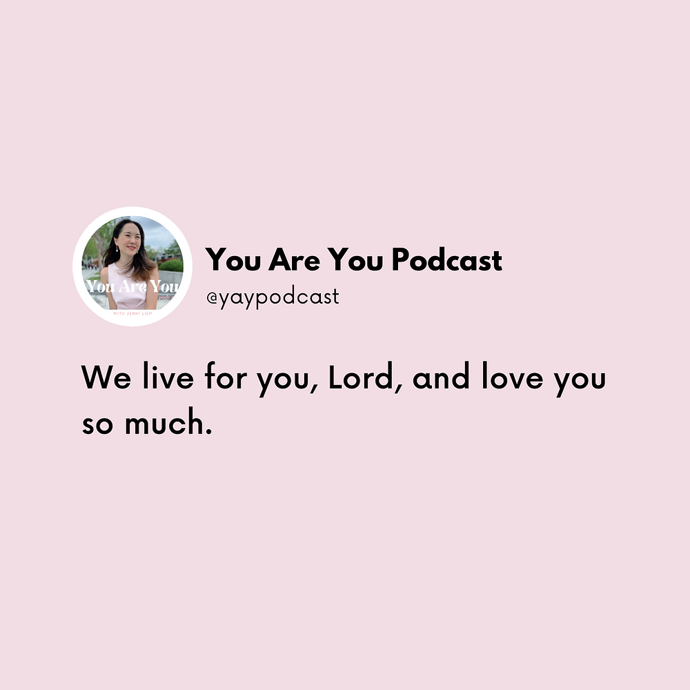 You Are You christian podcast by The Yay Project