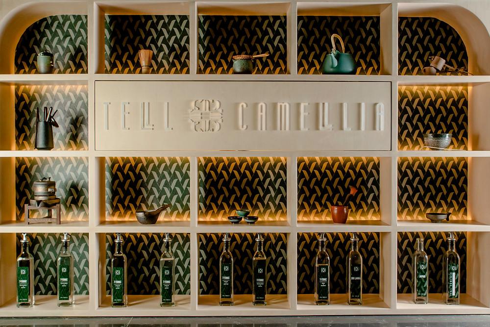 Tell Camellia cocktail bar in Hong Kong