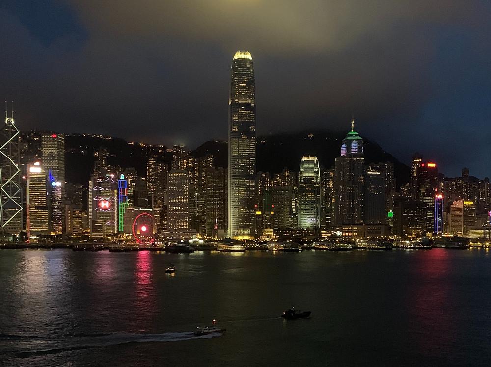 Hong Kong Skyline Marco Polo Hotel Hong Kong Hongkong