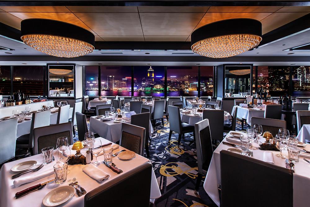 Morton's steakhouse restaurant in Hong Kong