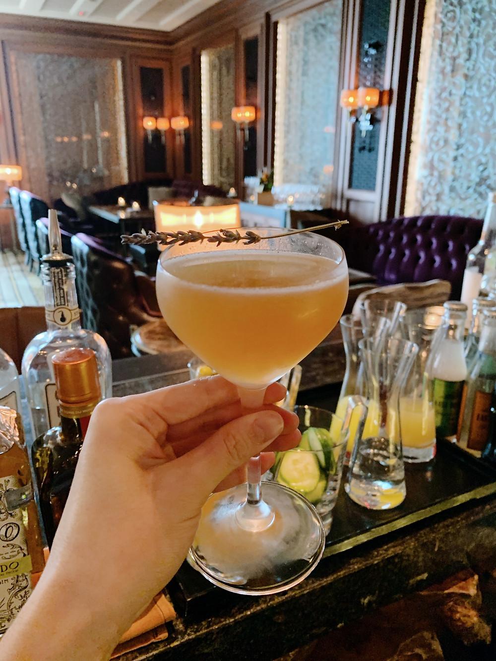 Cocktail at Caprice Hong Kong