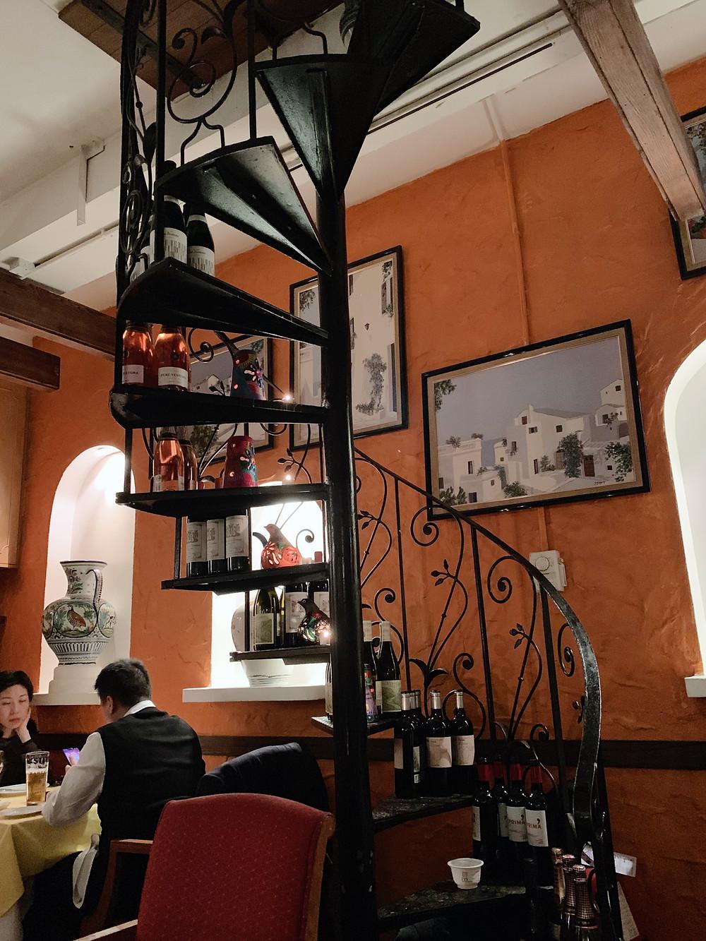 Ole Spanish restaurant in Hong Kong