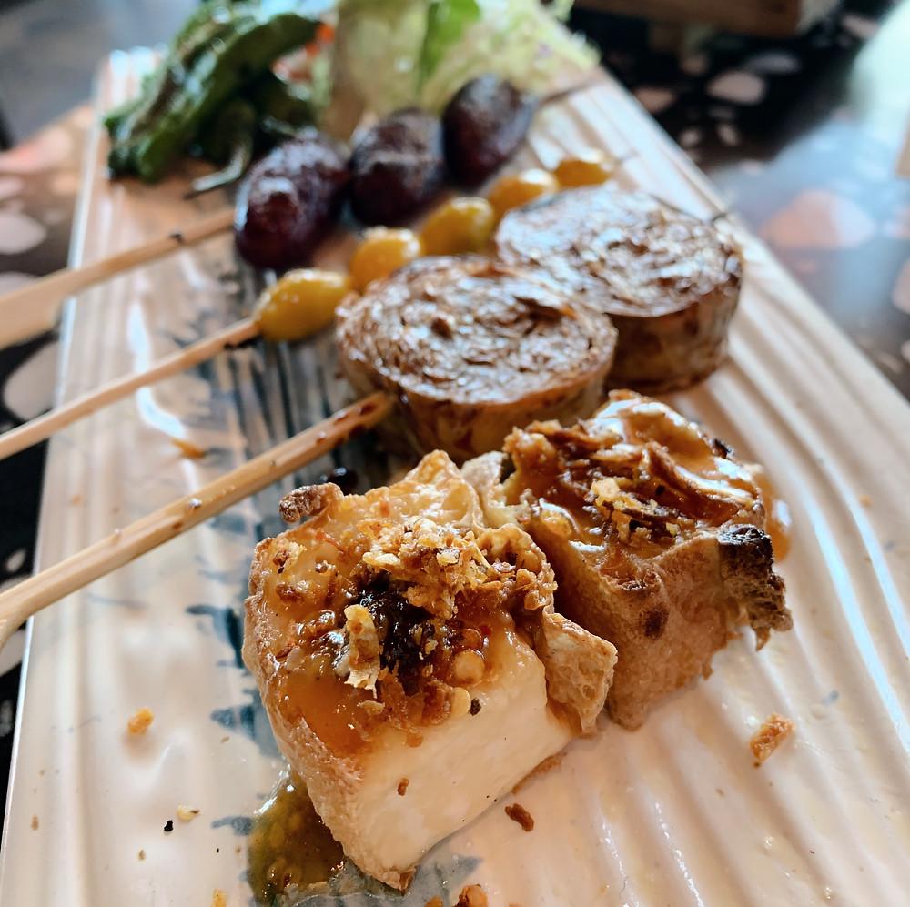 Skewers at Kyoto Joe Restaurant Hong Kong
