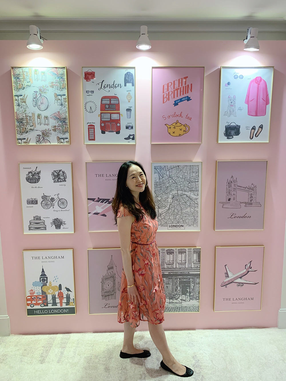 Jenni Lien at The Langham Hotel Hong Kong staycation