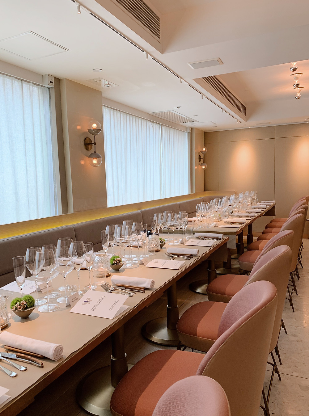 Tate Dining Room in Hong Kong