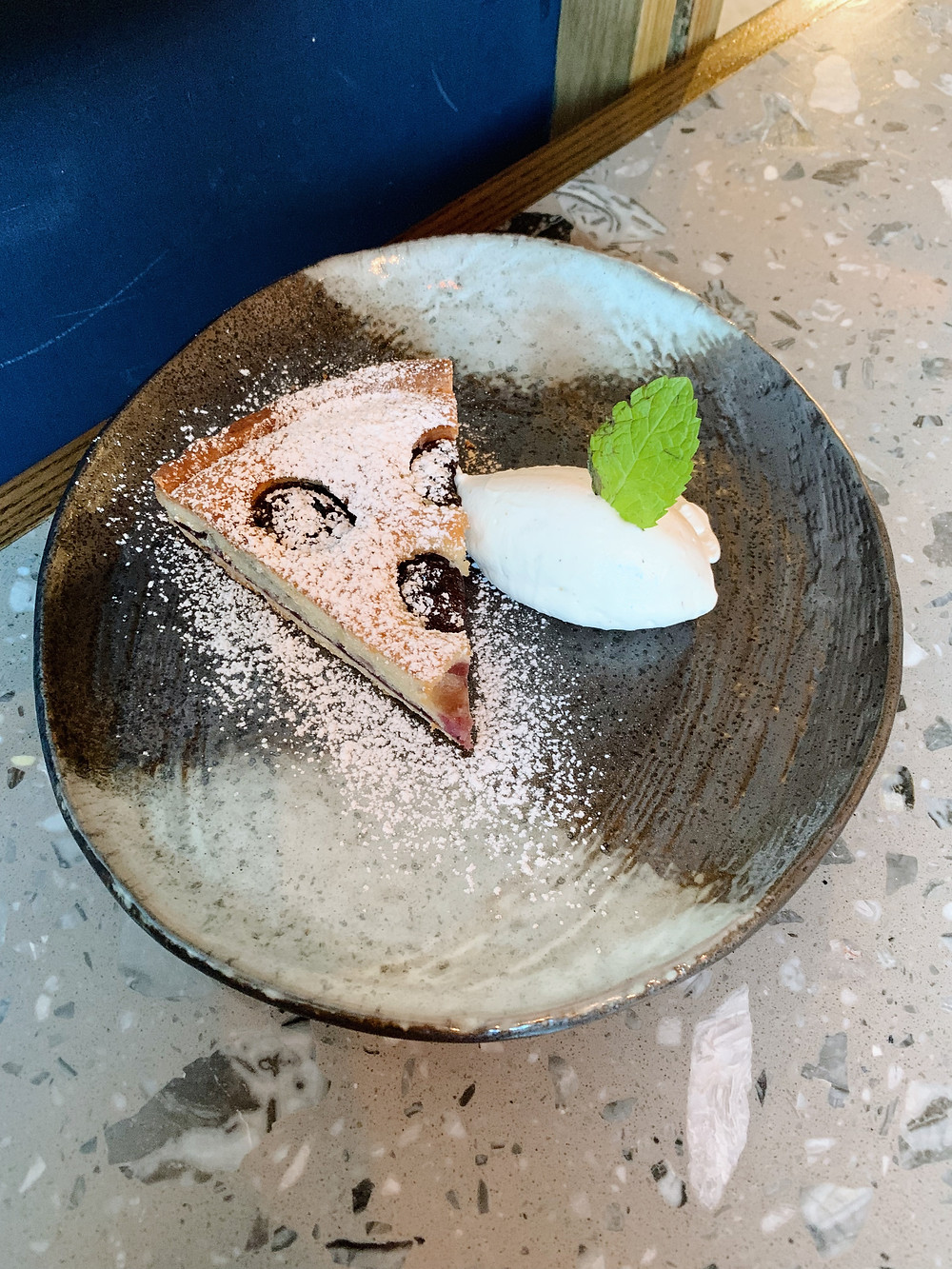 Dessert at Brunch at Kinship restaurant in Hong Kong