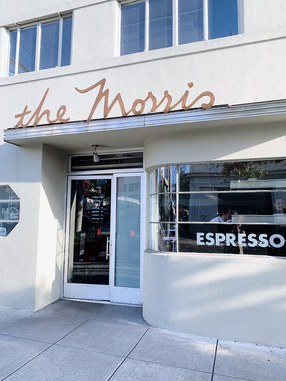 The Morris restaurant in San Francisco, USA