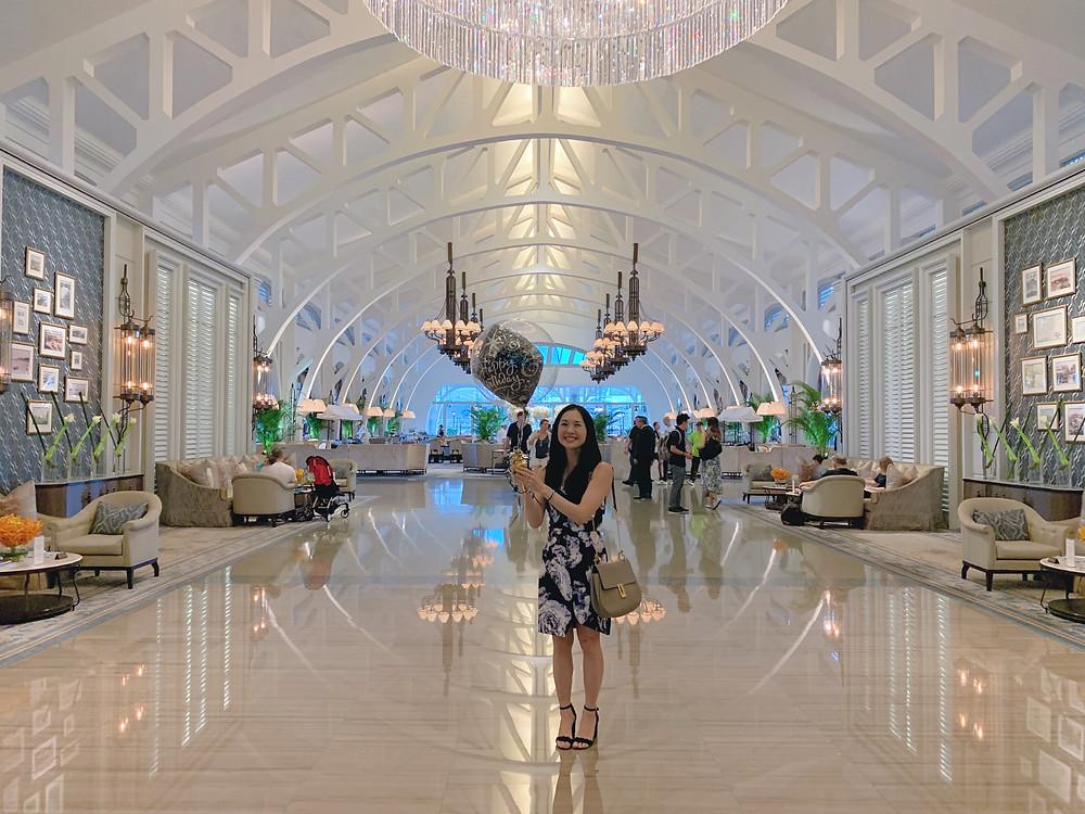 Lobby at The Fullerton Bay Singapore