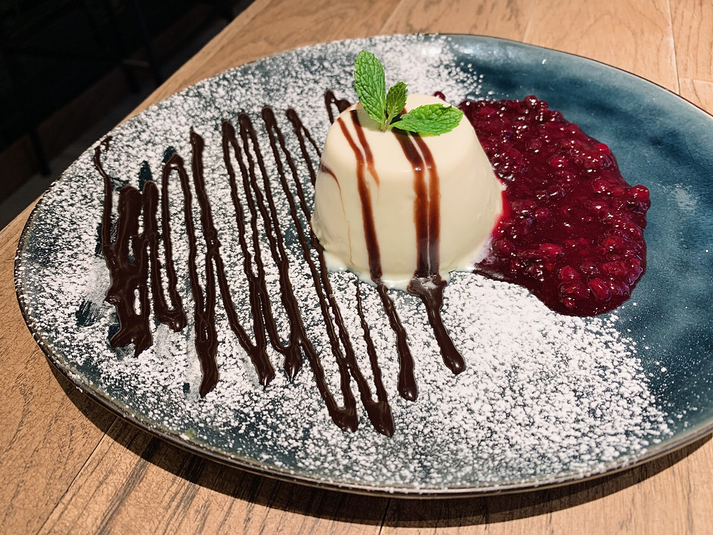 White Chocolate Panna Cotta at Ask for Alonzo
