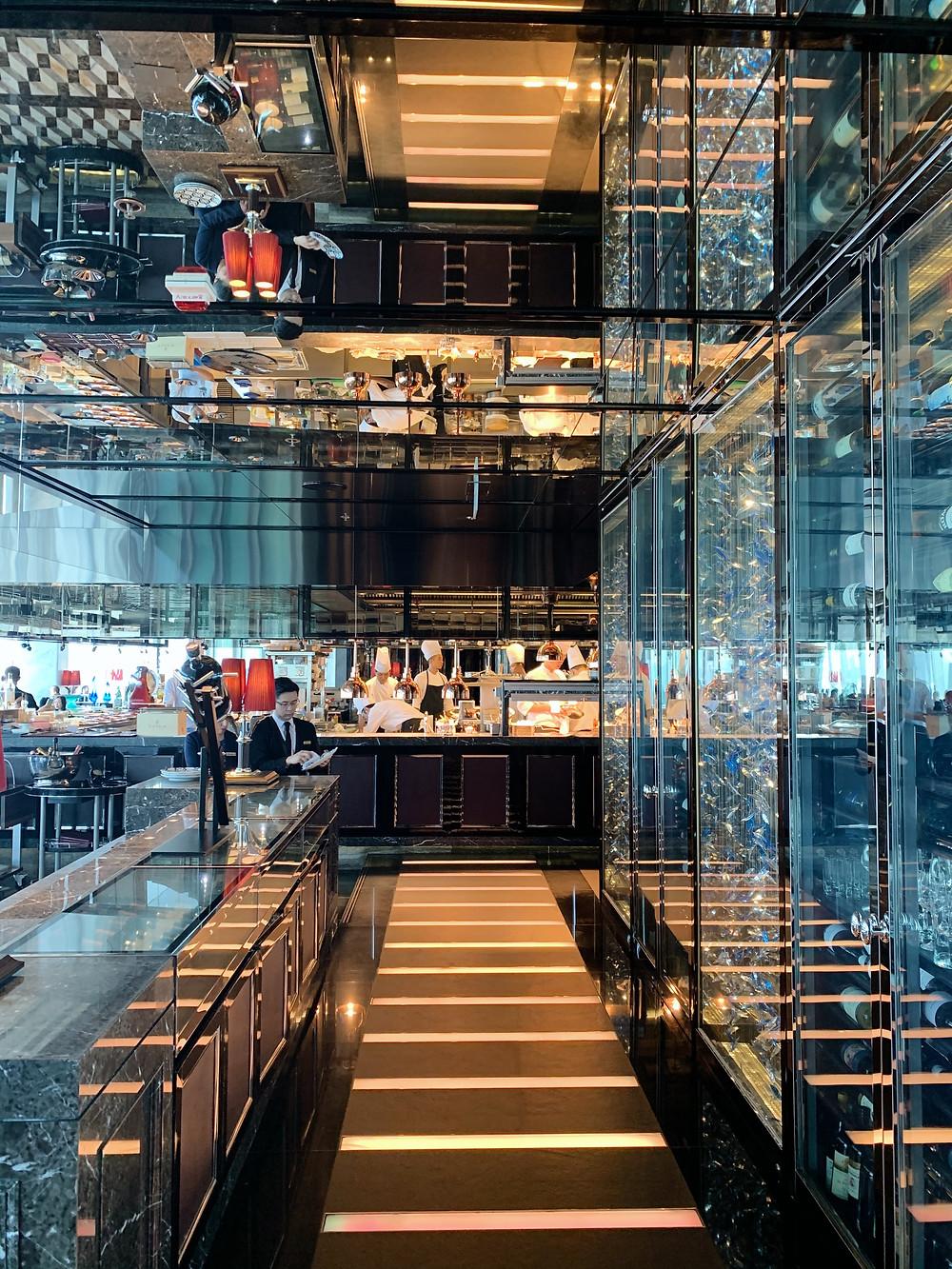 Tosca restaurant, Ritz-Carlton Hotel, Hong Kong