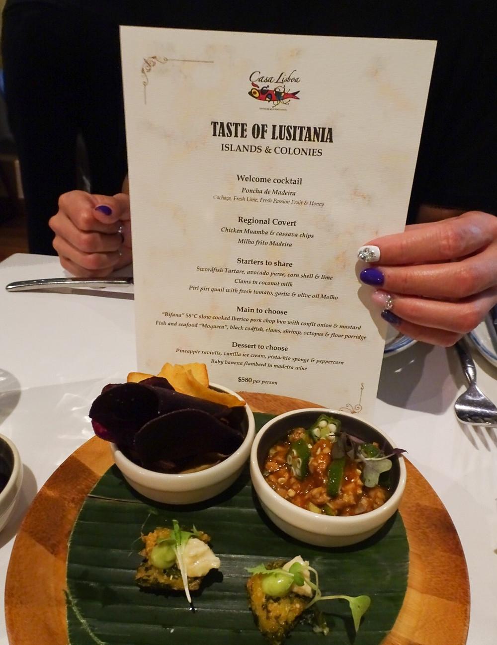 Casa Lisboa restaurant in Hong Kong