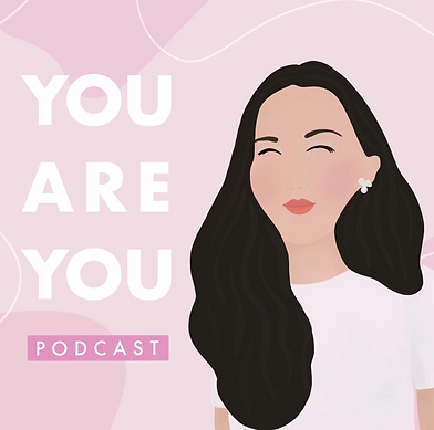 You Are You Podcast Logo Christian podcast by Jenni Lien of The Yay Project