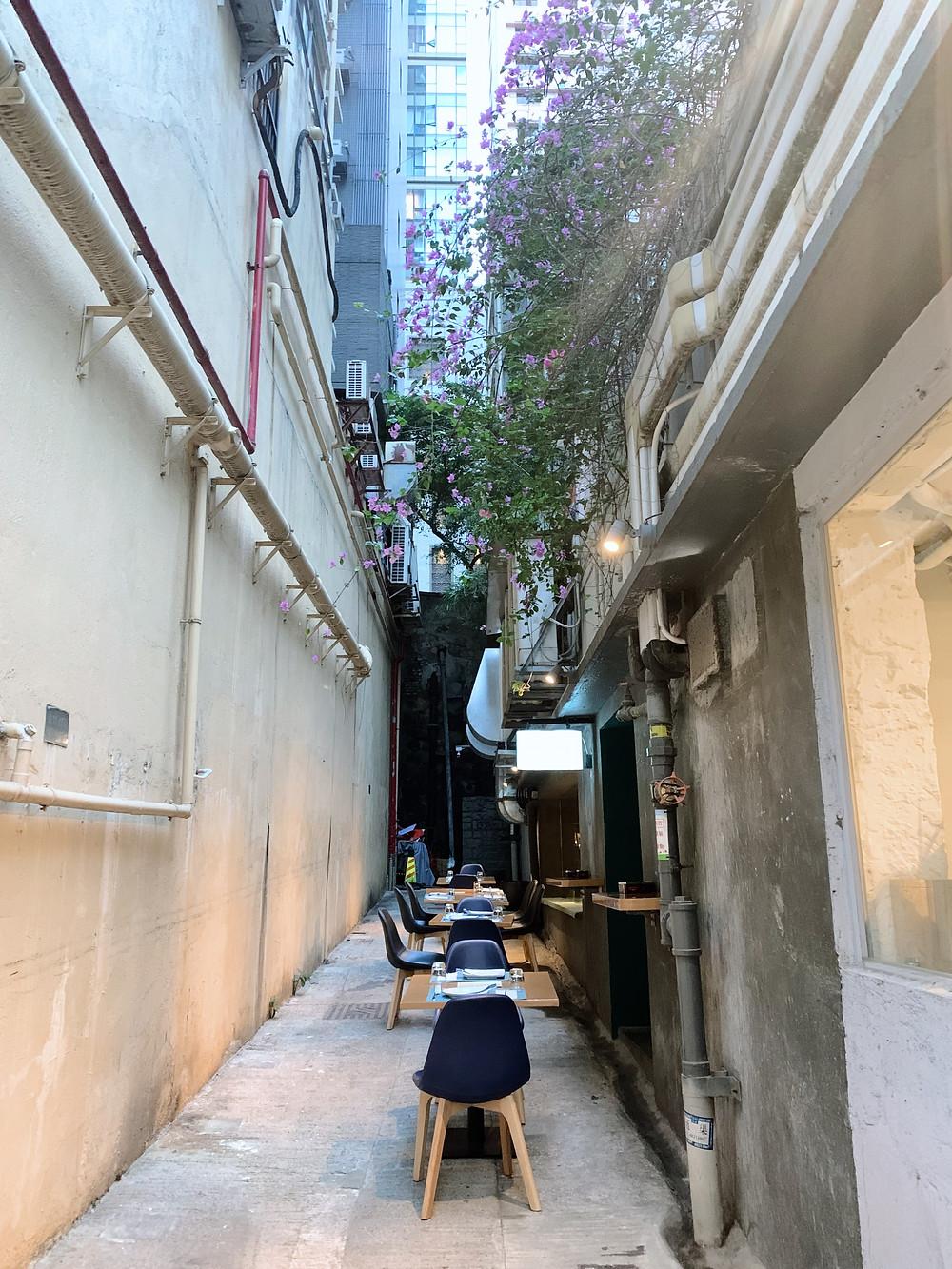LucAle Italian restaurant in Sai Ying Pun Hong Kong