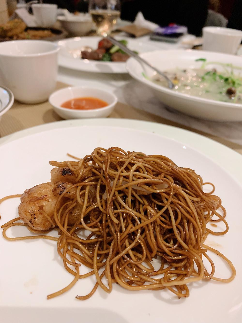 SHE restaurant in Hong Kong