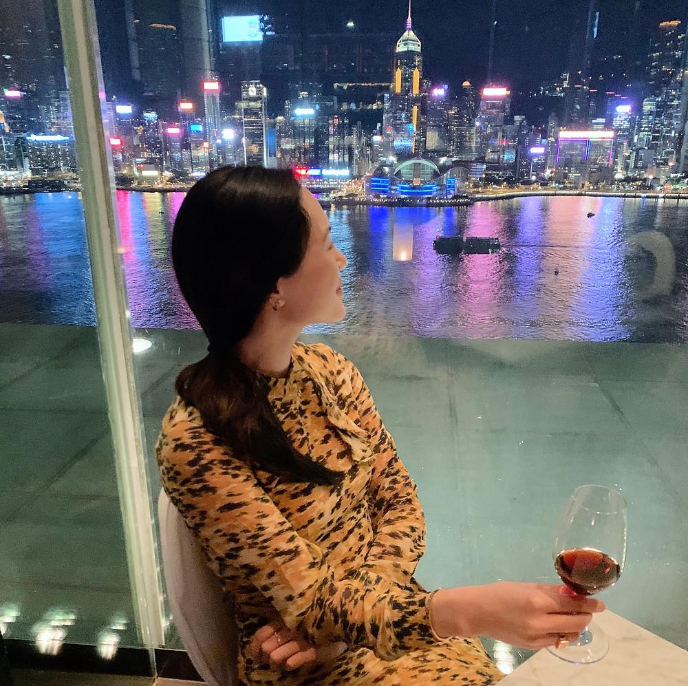 Jenni Lien Hong Kong blogger at Felix Peninsula Hotel Hong Kong