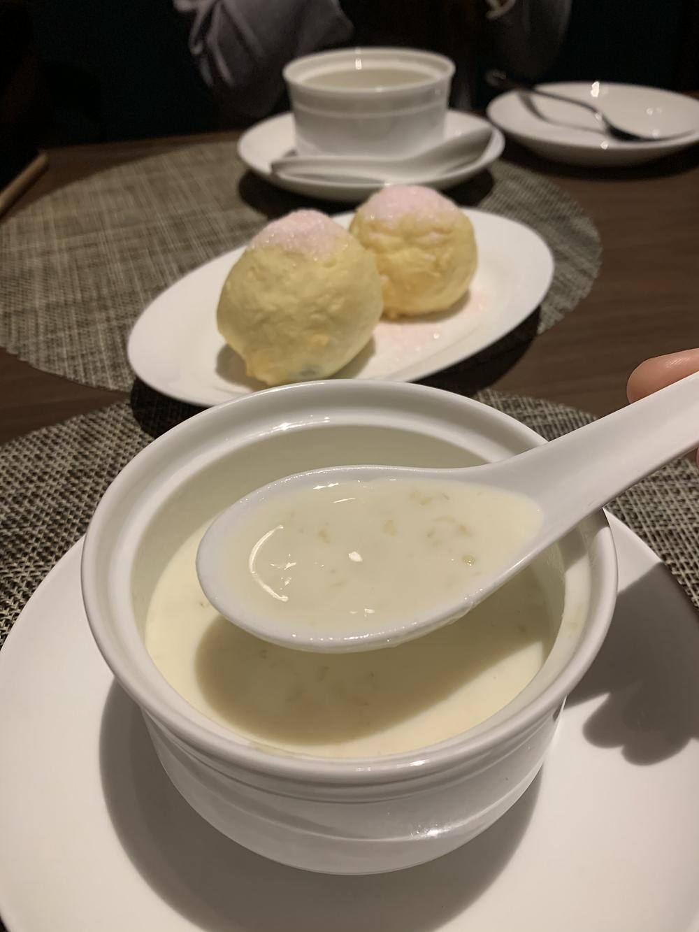 Dessert at Ye Shanghai restaurant in K11 Musea Hong Kong