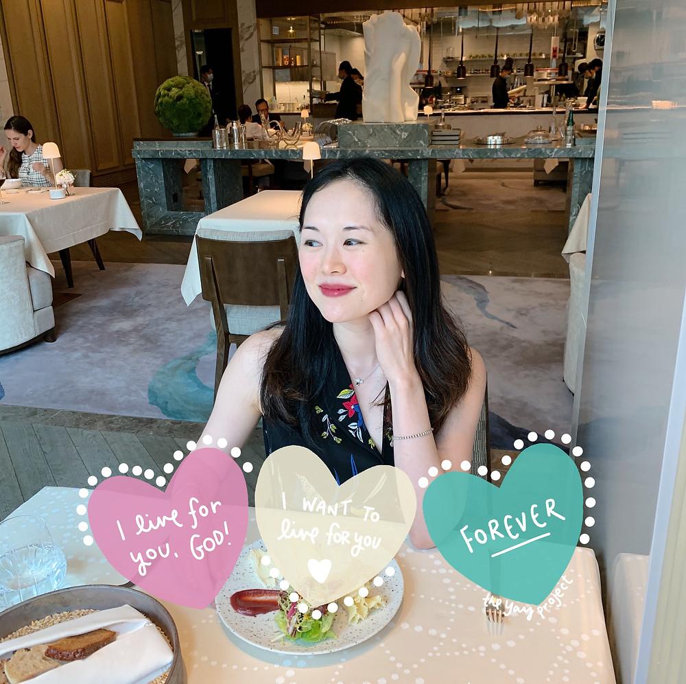 Jenni Lien Christian Blogger at L'Envol Hong Kong