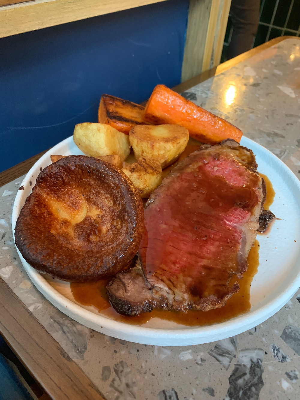 Sunday roast at Brunch at Kinship restaurant in Hong Kong