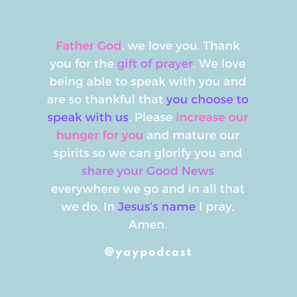 Christian podcast quote You Are You podcast by Jenni Lien The Yay Project