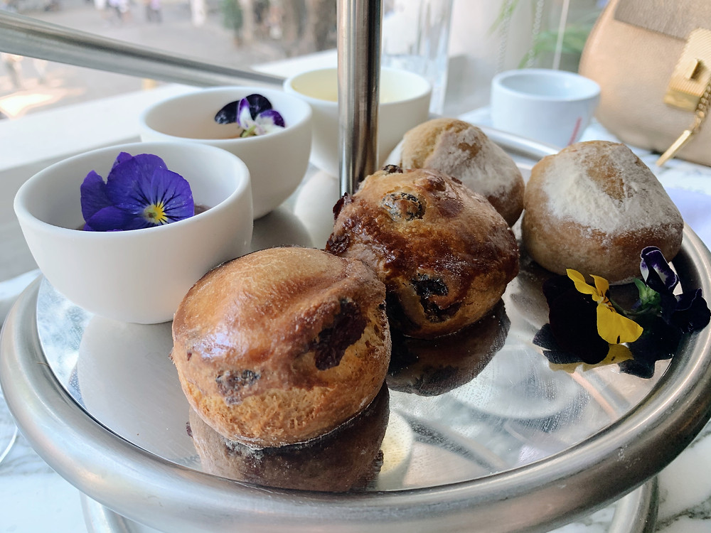 Afternoon tea at Statement in Hong Kong