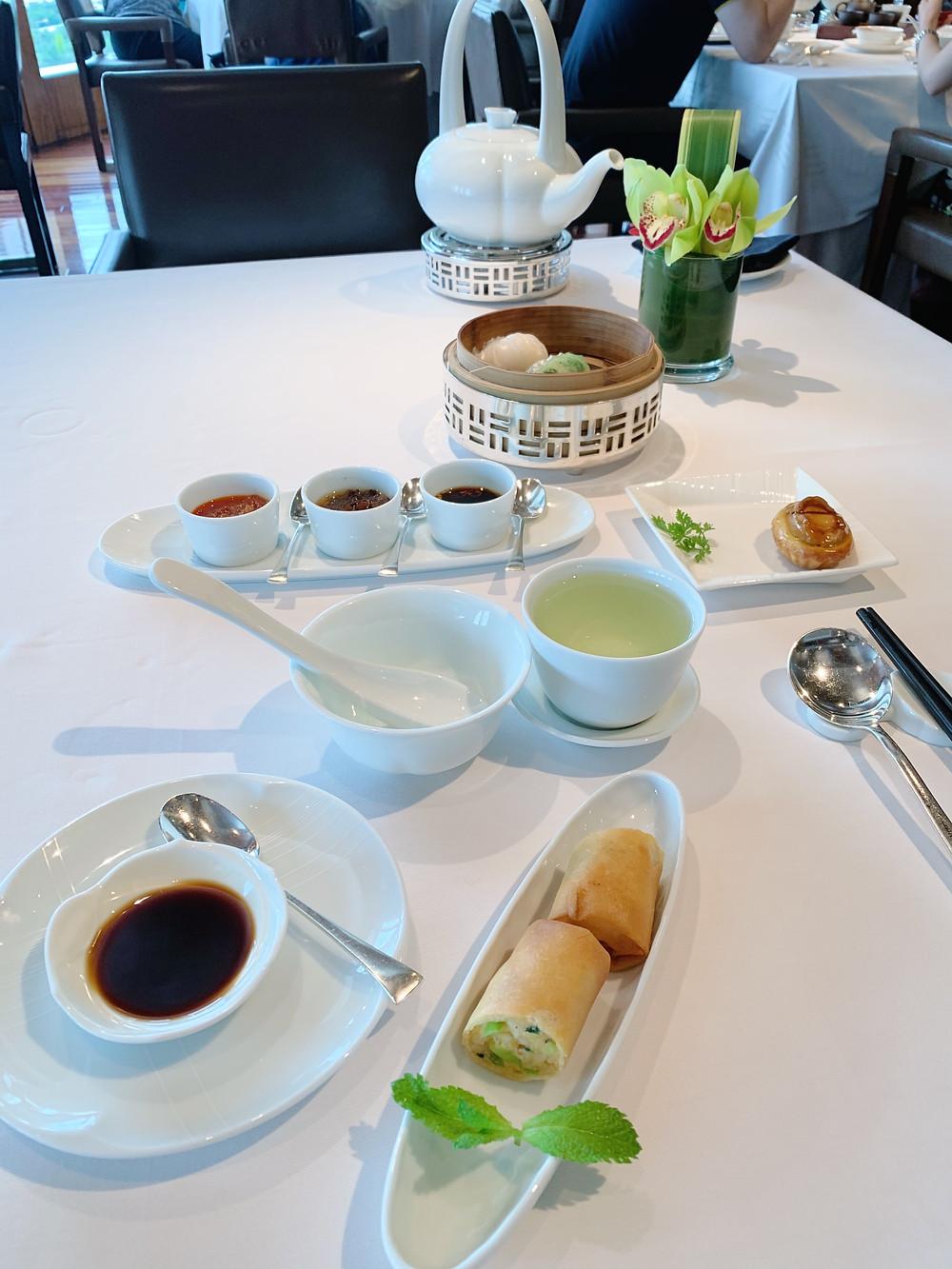 Lung King Heen Restaurant at the Four Seasons Hotel Hong Kong