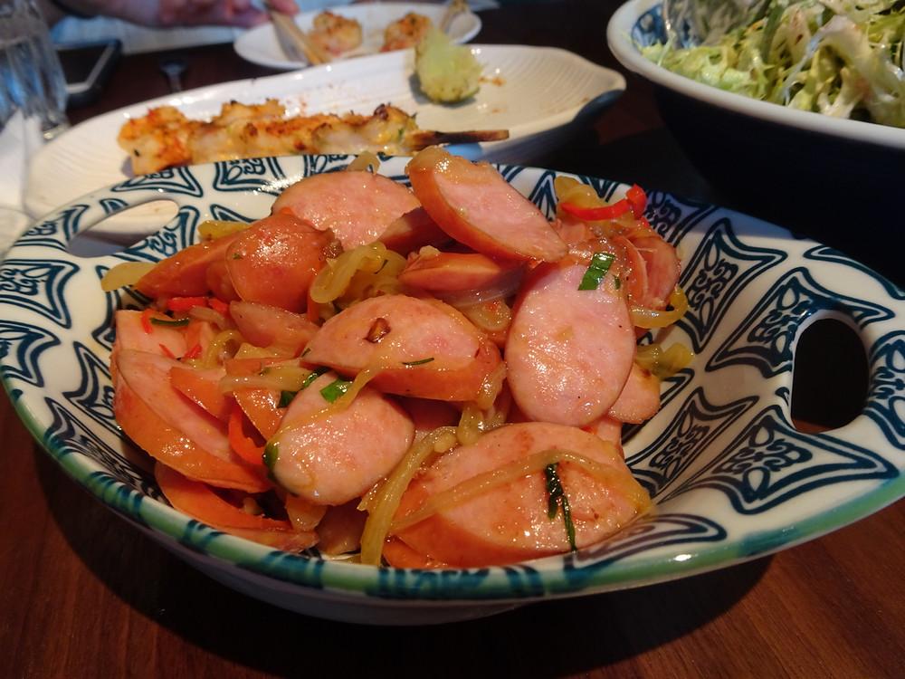 Food at Uma Nota Restaurant Hong Kong