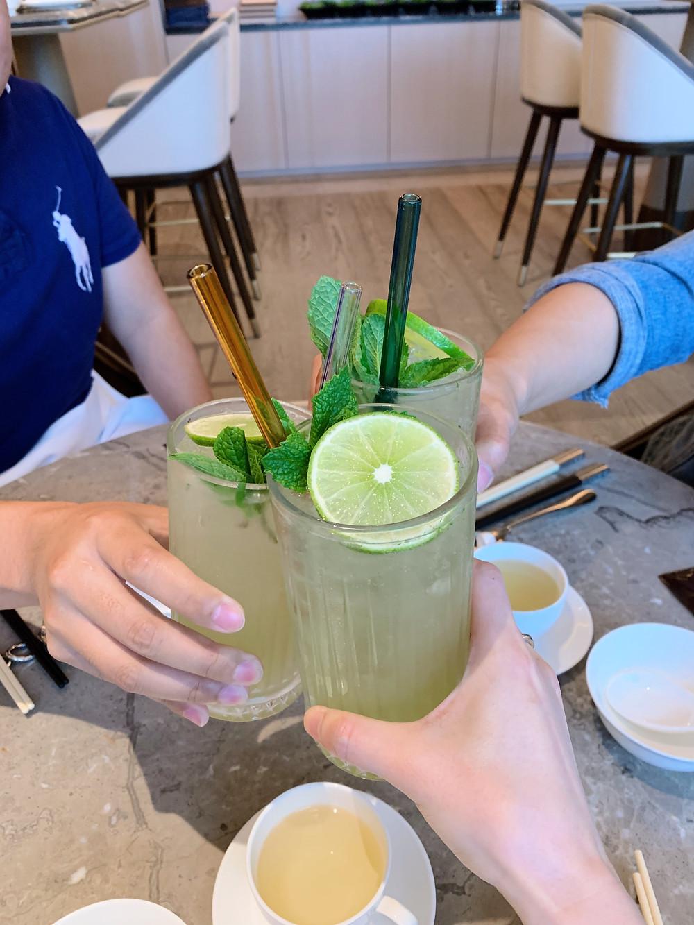 Cocktails at Ming Court Hong Kong HK