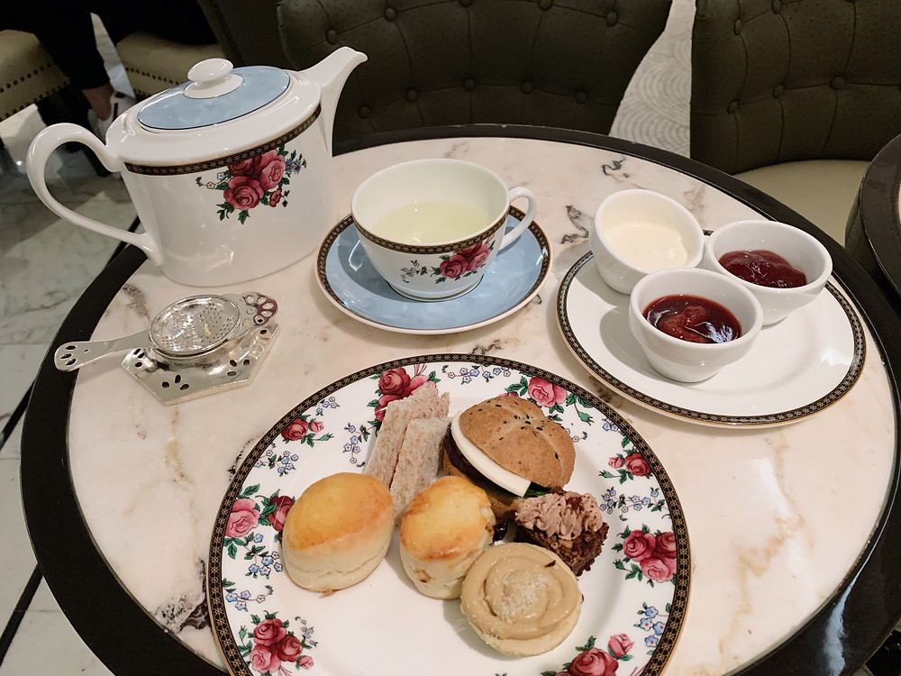 Afternoon tea at The Langham Hotel Hong Kong