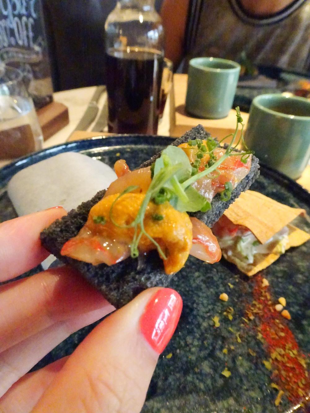 Food at Cafe Albergue 1601 in Hong Kong