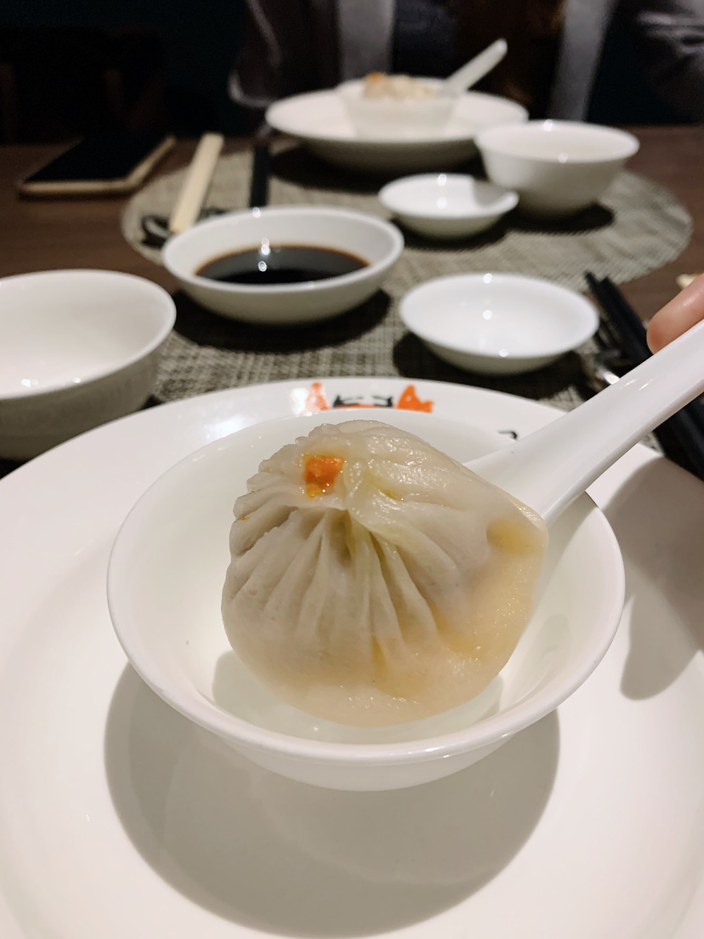 xiaolongbao at Ye Shanghai restaurant in K11 Musea Hong Kong