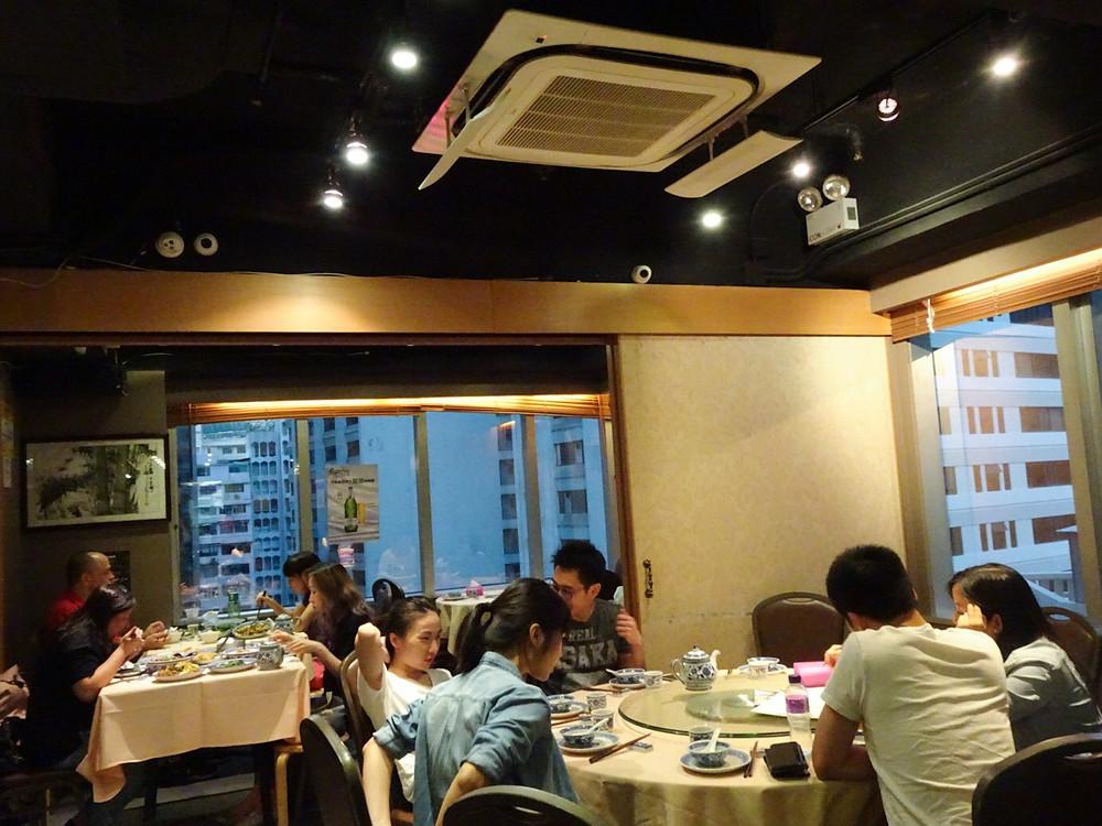 Sijie Sichuan restaurant in Hong Kong