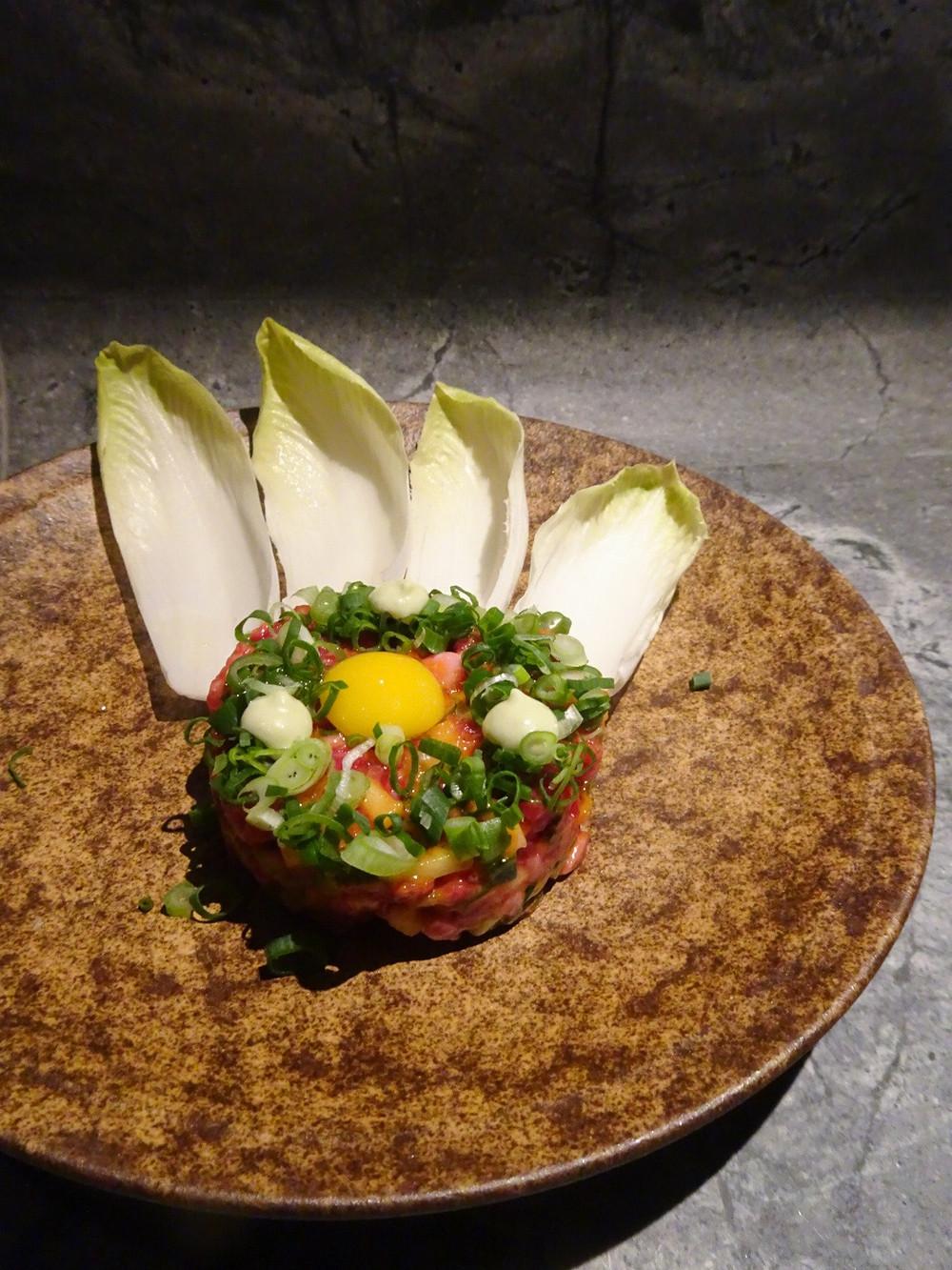 Food at Fukuro izakaya restaurant by Black Sheep Restaurant Group in Hong Kong