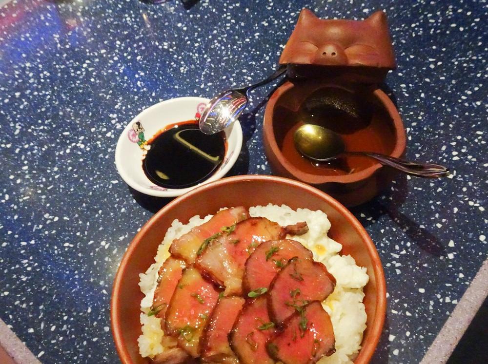 Food at Happy Paradise restaurant by May Chow in Hong Kong