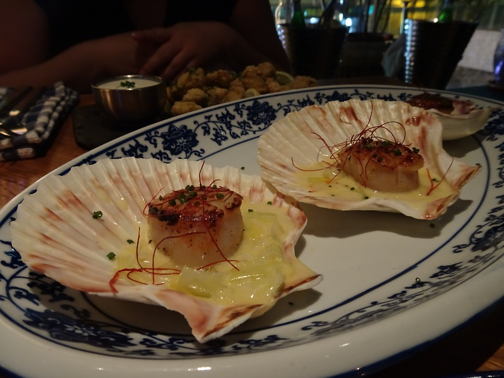 Food at The Optimist Spanish restaurant by Pirata Group in Hong Kong