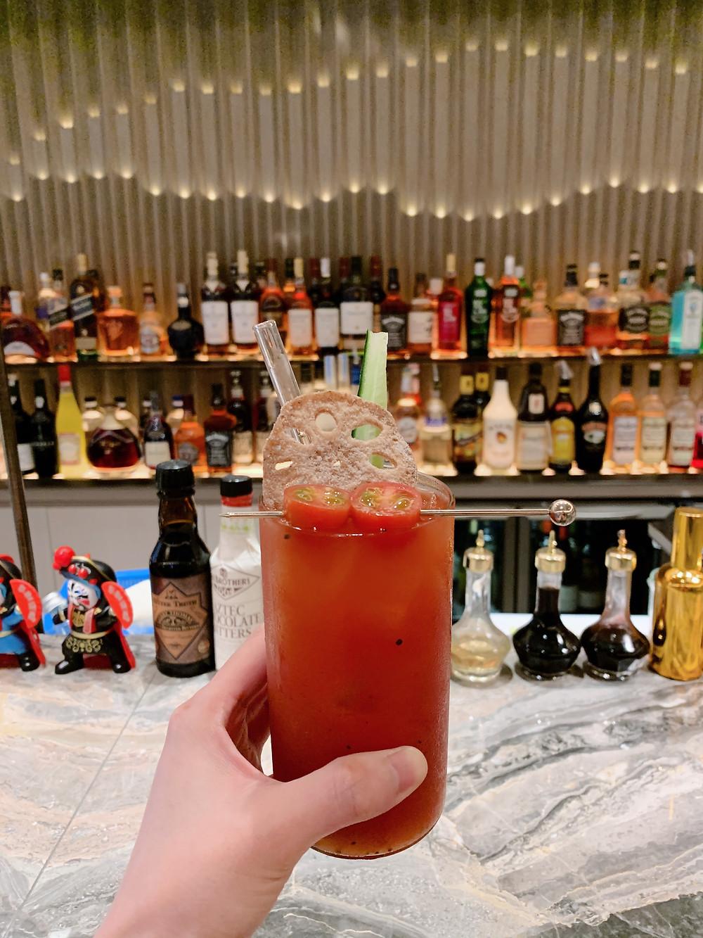 Cocktail at Ming Court Hong Kong HK