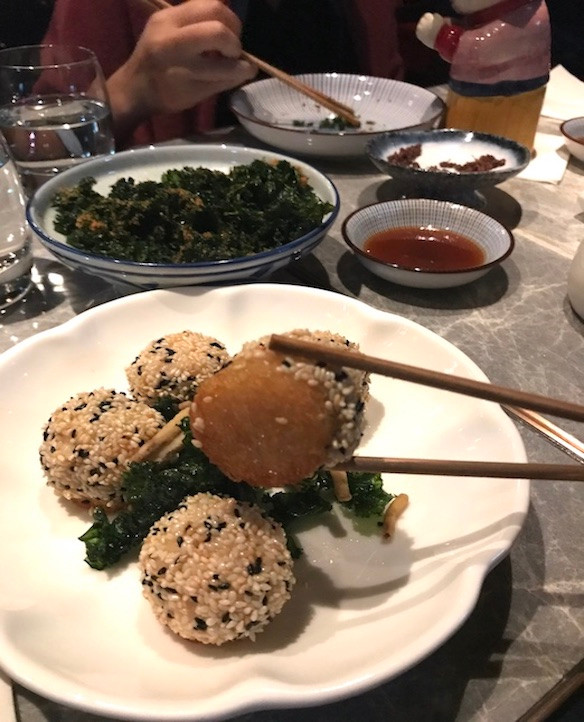 Fang Fang Japanese restaurant in Hong Kong