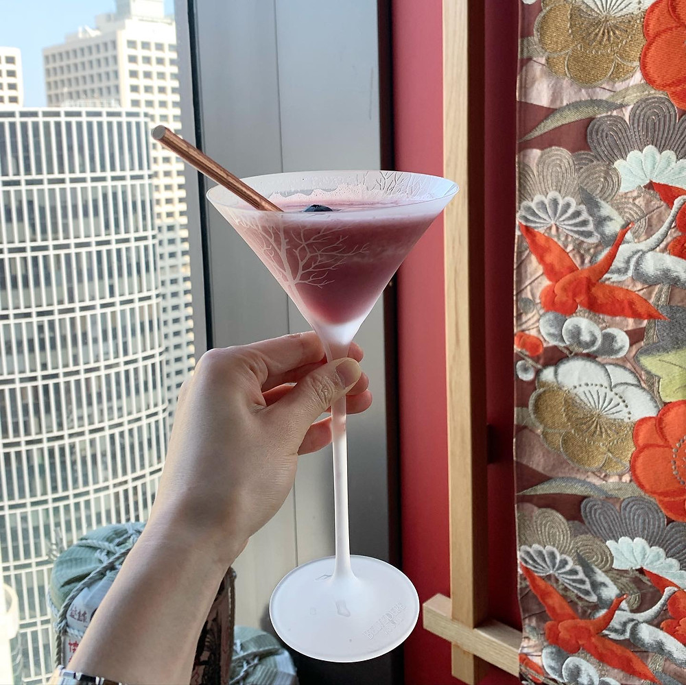 Mocktail at Kyoto Joe Restaurant Hong Kong