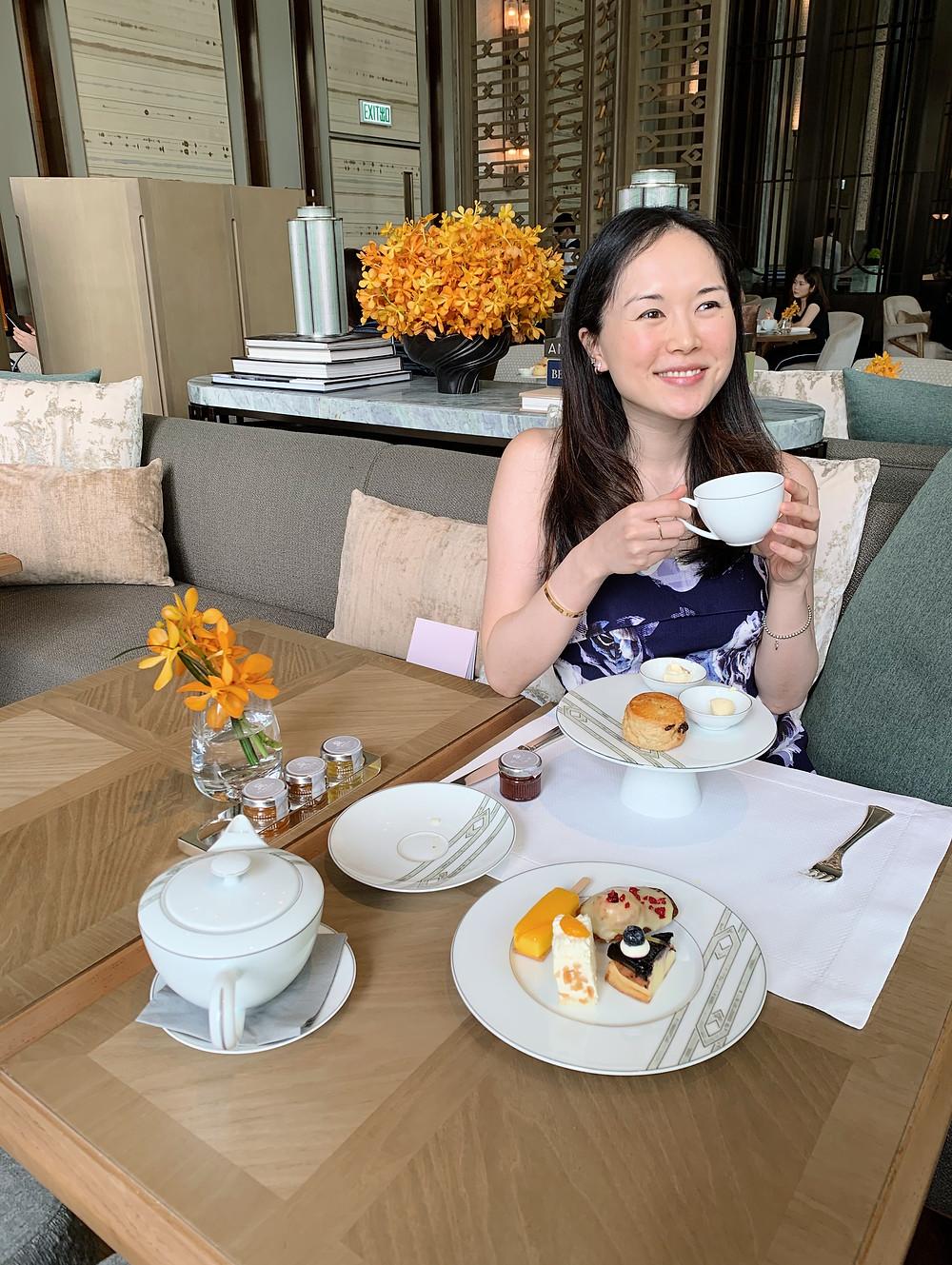 Jenni Lien Christian Blogger The Yay Project at St Regis Hotel Hong Kong