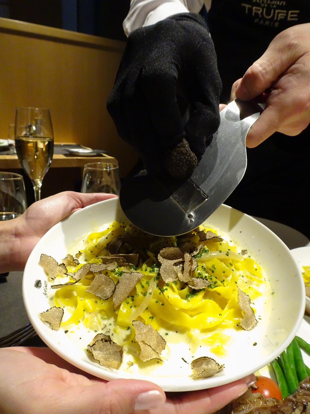 Food at Artisan de la Truffe restaurant in Hong Kong