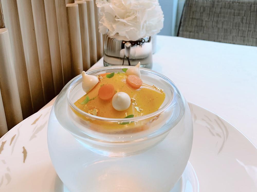 Dessert at L'Envol at St Regis Hotel HK Hong Kong