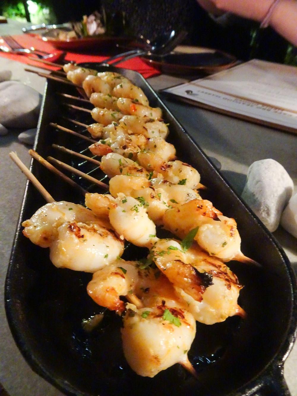 Food at Big Bay Cafe restaurant at Kerry Hotel Hong Kong