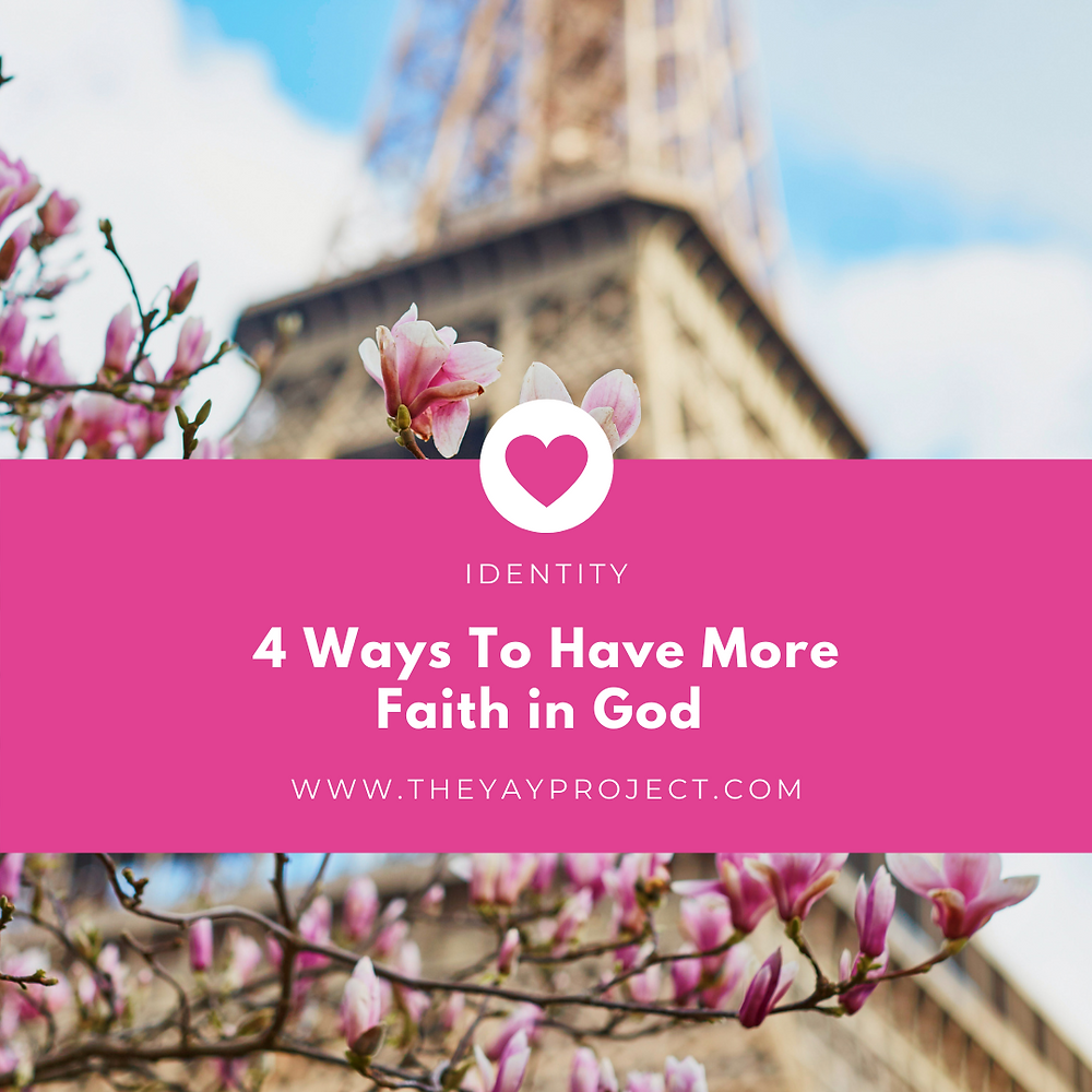 christian blog about faith in God by Jenni Lien of The Yay Project