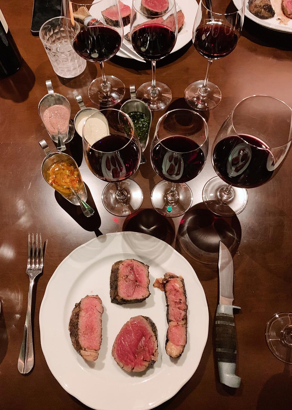 Steak at Buenos Aires Polo Club in Hong Kong
