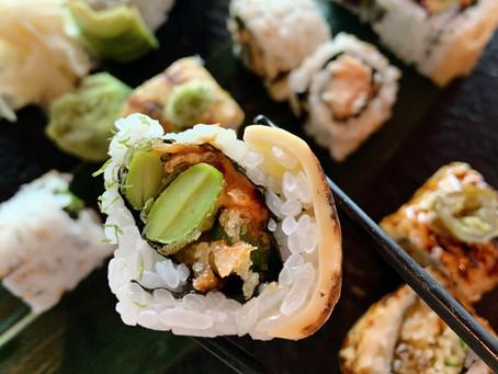 New menu review: Vegetarian sushi at Kyoto Joe, Hong Kong