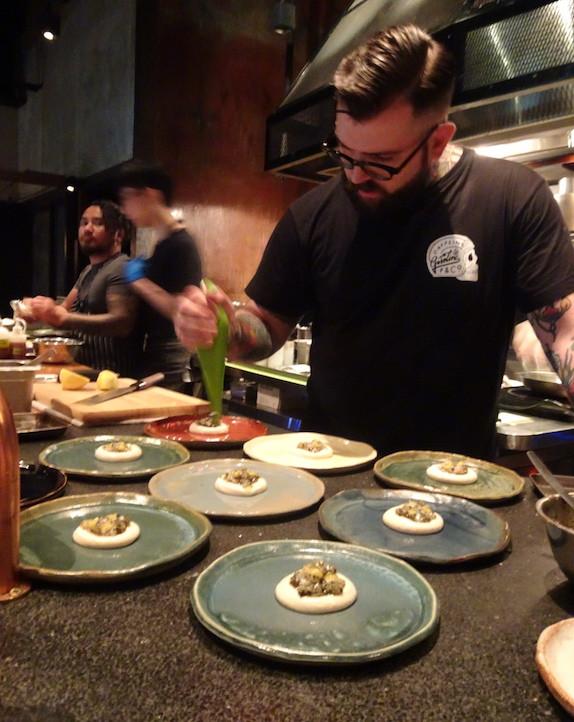Chef Nate Green in Hong Kong