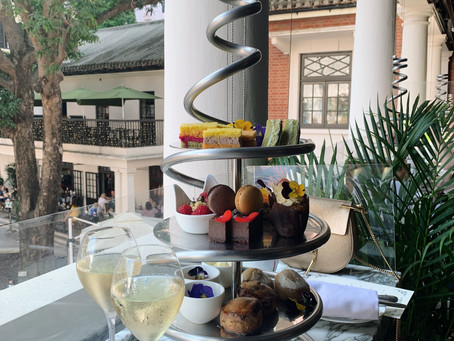 Review: Botanical afternoon tea (with champagne!) at Statement